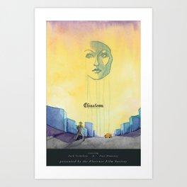 Chinatown Poster Art Print