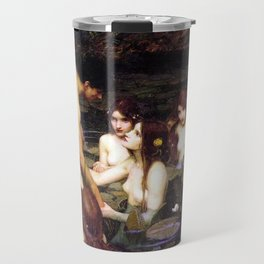 Hylas and the Nymphs,  John William Waterhouse Travel Mug