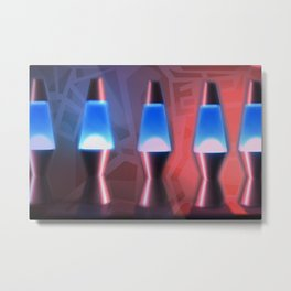 Lava Lamps #1 Metal Print