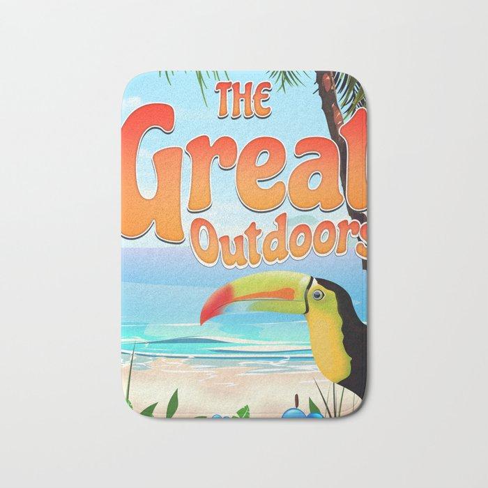 The Great Outdoors Toucan Bath Mat