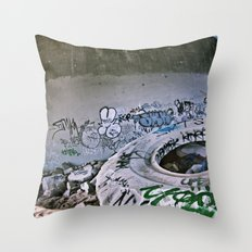 Lost Home Throw Pillow