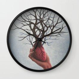 Nourishing Heart Wall Clock