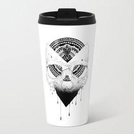 Enigmatic Skull Travel Mug