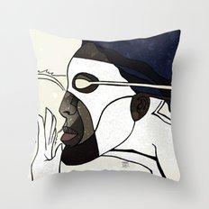 Captain Photon Throw Pillow