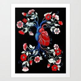 Romantic Anatomy Art Print