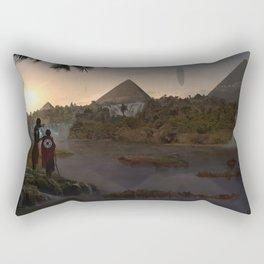 12.000 years ago Rectangular Pillow