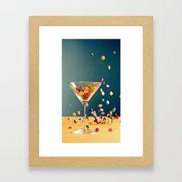 Chocolate Cocktail Framed Art Print