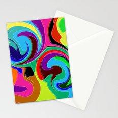 Tricky Vortex Stationery Cards