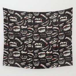 Monster Mouths Wall Tapestry