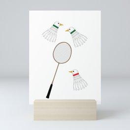 Badminton Cock Shuttles Mini Art Print