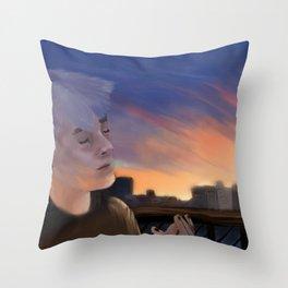 Sander Driesen (wtfock) Throw Pillow