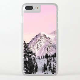 Sunrise on Shuksan Clear iPhone Case