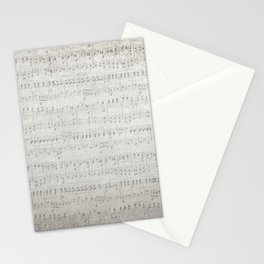 "MUSIC by collection ""Music"" Stationery Cards"