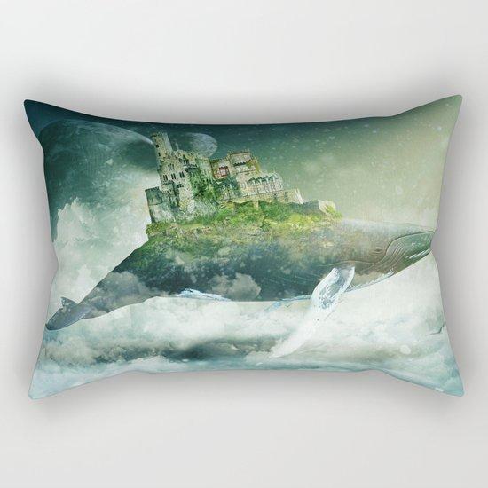 Flying kingdoms Rectangular Pillow