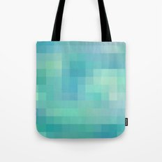 Re-Created Colored Squares No. 17 by Robert S. Lee Tote Bag