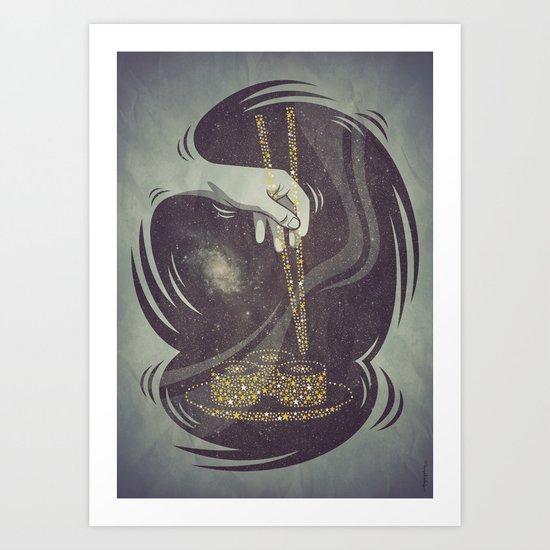 Divine Sushi Art Print