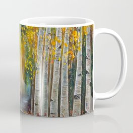 Nelly Creek painting of Uncompahgre National Forest Coffee Mug