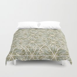 Ethnic ikat pattern. 3 Duvet Cover