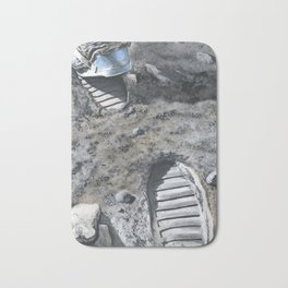 Footprints Bath Mat