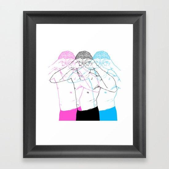 Manóculos Framed Art Print