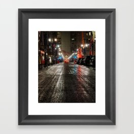 Downtown Calgary Framed Art Print