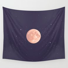 Supermoon Wall Tapestry