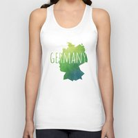 germany Tank Tops featuring Germany by Stephanie Wittenburg