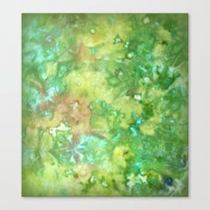 Greenwoods Abstract Canvas Print