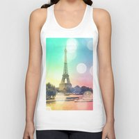 paris Tank Tops featuring Paris. by Whimsy Romance & Fun