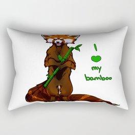 I love my bamboo (tablet) Rectangular Pillow