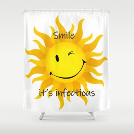 Infectious Smile Shower Curtain