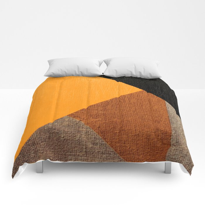 The Yellow Pig Comforters