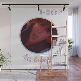 BTS Love Yourself Wonder Design - J-Hope Wall Mural