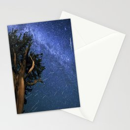Perseid Meteors Stationery Cards