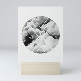 Clouds Print Mini Art Print