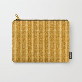 Yellow Snake Skin Animal Print Wild Nature Carry-All Pouch