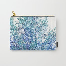 WINTER BLUE - SOLAR TREE Carry-All Pouch