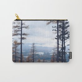 view from the mountains of Montana Carry-All Pouch