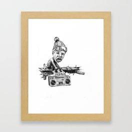 The State of Hip-Hop Framed Art Print