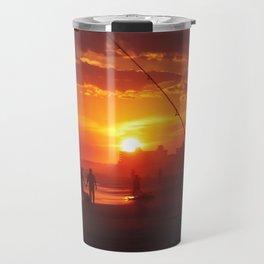 Emerald Isle NC - Sunset #1 Travel Mug