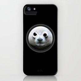 Panda With Googly Eyes Fun iPhone Case