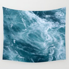 Ocean Storm | Classic Blue Wall Tapestry