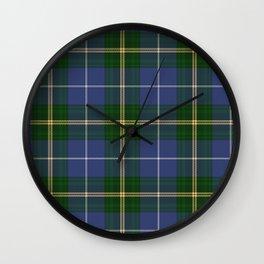 Tartan Of Nova Scotia Wall Clock