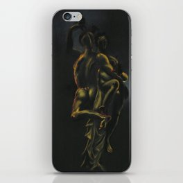 Frantic, emotional, painful, confusing, obsessive, horny and fun iPhone Skin