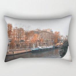 Paris In Fall Rectangular Pillow