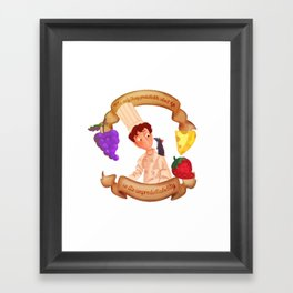 linguini Framed Art Print