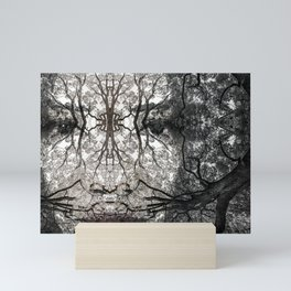 Forest Goddess in the Branches of and Ancient Oak Mini Art Print