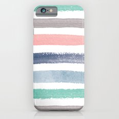 Colored Watercolor Brush Strokes Slim Case iPhone 6s