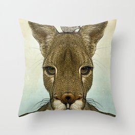 Roo and Tiny Throw Pillow