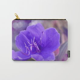 Melancholy violet by #Bizzartino Carry-All Pouch
